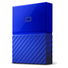 Western Digital WD My Passport 2TB 2.5in External HDD Blue
