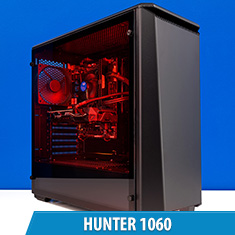 PCCG Hunter 1060 Gaming System
