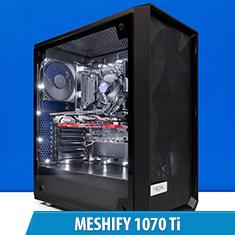 PCCG Meshify 1070 Ti Gaming System