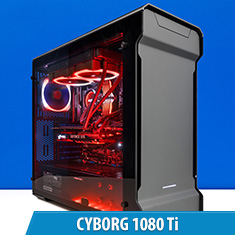PCCG Cyborg 1080 Ti Gaming System