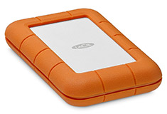 LaCie Rugged 4TB Thunderbolt & USB-C Portable Drive