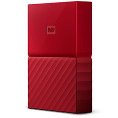 Western Digital WD My Passport 2TB Red