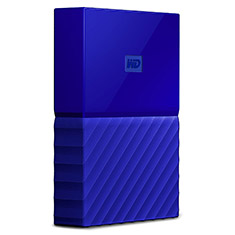 Western Digital WD My Passport 4TB Blue