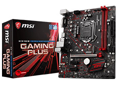 MSI H310M Gaming Plus Motherboard