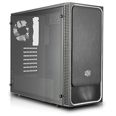 Cooler Master MasterBox E500L With Window Silver