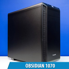 PCCG Obsidian 1070 Gaming System