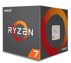 AMD Ryzen 7 2700X with Wraith Prism