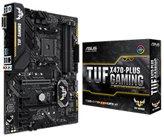 ASUS TUF X470 Plus Gaming Motherboard