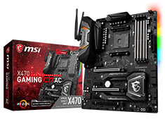 MSI X470 Gaming M7 AC Motherboard