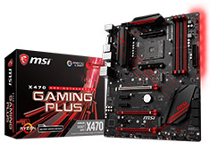 MSI X470 Gaming Plus Motherboard