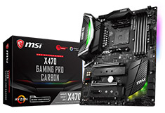 MSI X470 Gaming Pro Carbon Motherboard