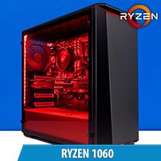 PCCG Ryzen 1060 Gaming System