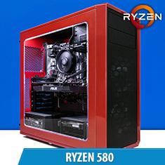 PCCG Ryzen 580 Gaming System