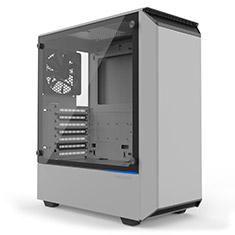 Phanteks Eclipse P300 Tempered Glass White