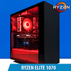 PCCG Ryzen Elite 1070 Gaming System