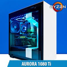 PCCG Aurora 1080 Ti Gaming System