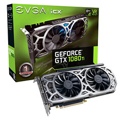 EVGA GeForce GTX 1080 Ti SC2 Gaming iCX 11GB