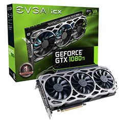 EVGA GeForce GTX 1080 Ti FTW3 Gaming iCX 11GB