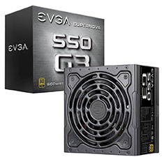 EVGA SuperNOVA G3 550W Modular Power Supply