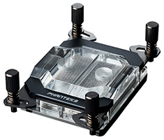 Phanteks Glacier C399A AMD TR4 CPU Water Block Black