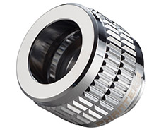 Phanteks Hard Tube 12mm Compression Fitting Chrome