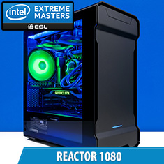 PCCG Reactor 1080 Gaming System *IEM*