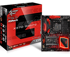 Asrock Fatal1ty X370 Professional Gaming Motherboard