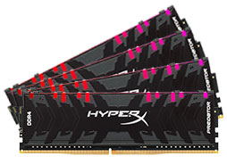 Kingston HyperX Predator RGB HX429C15PB3AK4/32 32GB (4x8GB) DDR4
