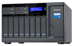QNAP TVS-1282T3-I5-16G 12 Bay Thunderbolt NAS with Intel i5 CPU