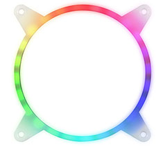 SilverStone FG142 Addressable RGB LED Fan Frame