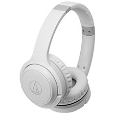 Audio-Technica ATH-S200BT Bluetooth On-Ear Headphones White
