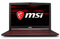MSI GL63 Core i7 GTX 1050 15.6in Notebook