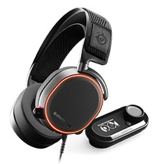 SteelSeries Arctis Pro and GameDAC Black