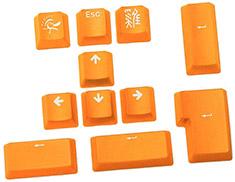 Ducky PBT Doubleshot 11 Keycap Set Lemon Yellow