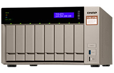 QNAP TVS-873E-4G 8 Bay NAS with AMD APU