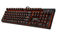 Gigabyte Force K85 RGB Backlit Mech Gaming Keyboard Kailh Red