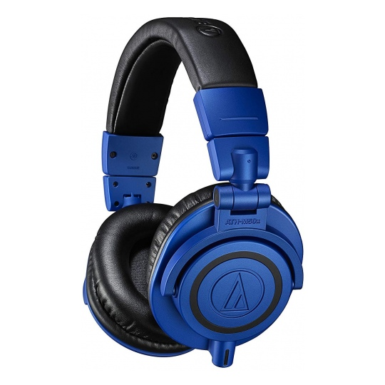 Audio-Technica ATH-M50X Professional Studio Headphones Blue