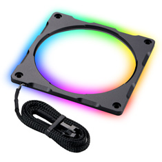 Phanteks Halos Lux 120mm Digital RGB Aluminium LED Frame Black