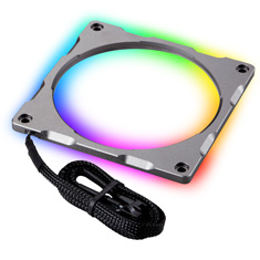 Phanteks Halos Lux 120mm Digital RGB Aluminium LED Frame Grey