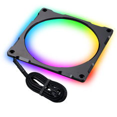 Phanteks Halos Lux 140mm Digital RGB Aluminium LED Frame Black