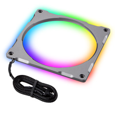 Phanteks Halos Lux 140mm Digital RGB Aluminium LED Frame Grey