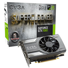 EVGA GeForce GTX 1060 SC Gaming ACX 2.0 3GB