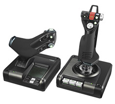 Logitech X52 Professional HOTAS Throttle and Stick Controller