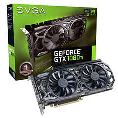EVGA GeForce GTX 1080 Ti SC Gaming Black Edition iCX 11GB