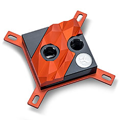 EK Supremacy Edge CPU Waterblock Red Acetal