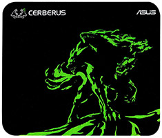 ASUS Cerberus Mat Mini Gaming Mouse Pad Green