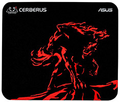 ASUS Cerberus Mat Mini Gaming Mouse Pad Red