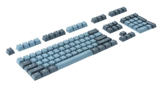 Ducky PBT Doubleshot 108-Key Keycap Set Skyline