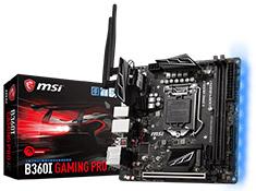 MSI B360I Gaming Pro AC Motherboard