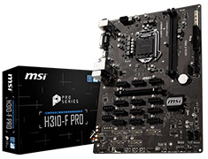 MSI H310-F Pro Motherboard